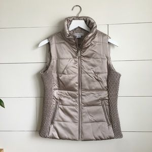 Liz Claiborne puffer vest jacket coat sweater NWT